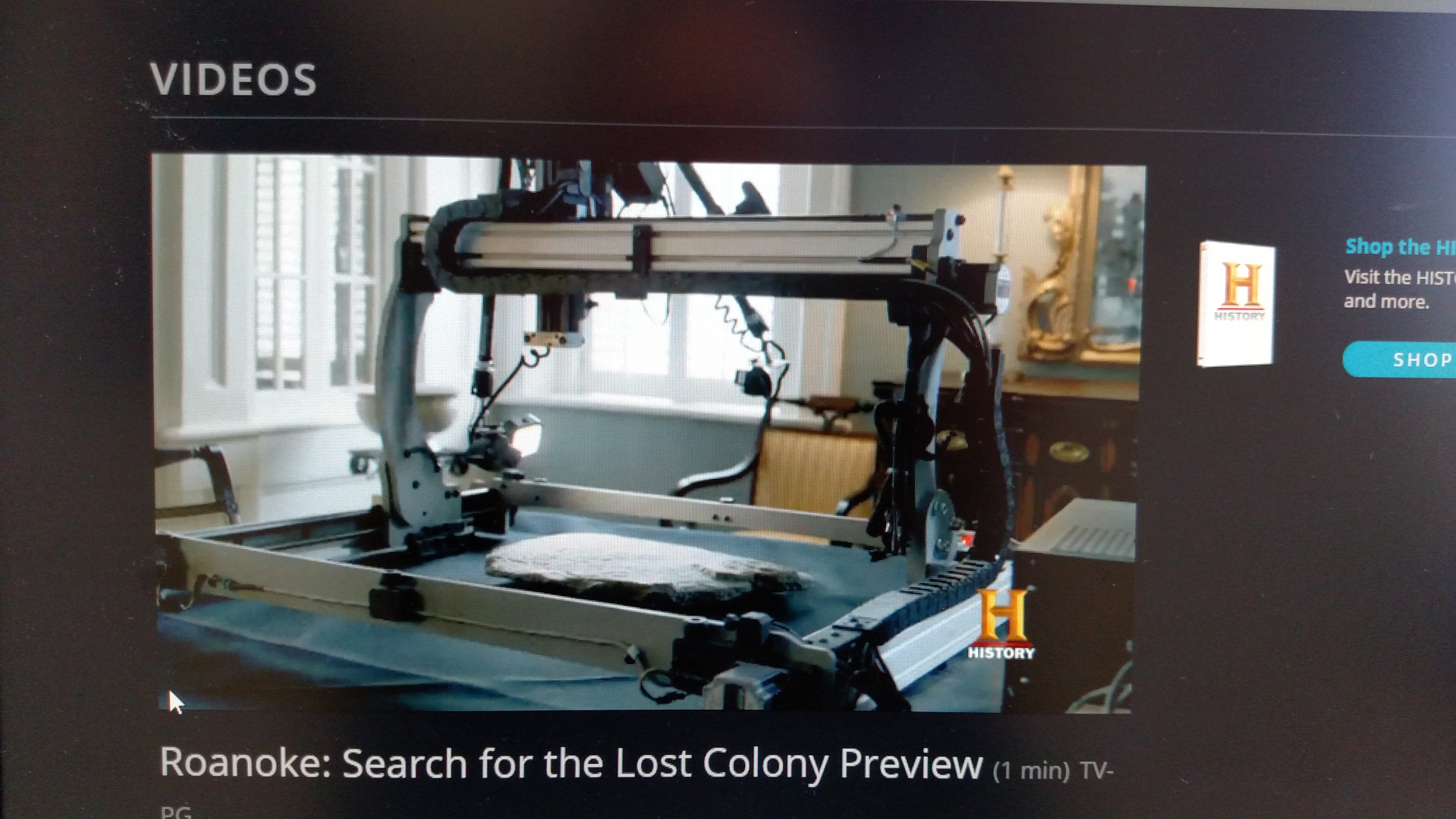 History Channel Preview